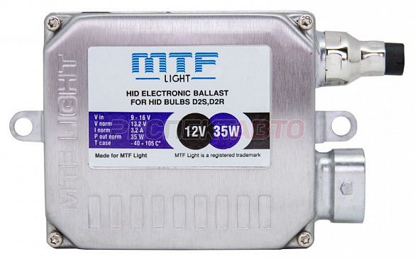 Блок розжига MTF Light D2 12V 35W (разъем MTF)